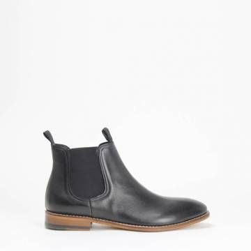 Morena Gabbrielli D2474 Chelsea Boot Black Leather