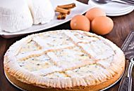 Ricotta tart, easy recipe for a delicious cake