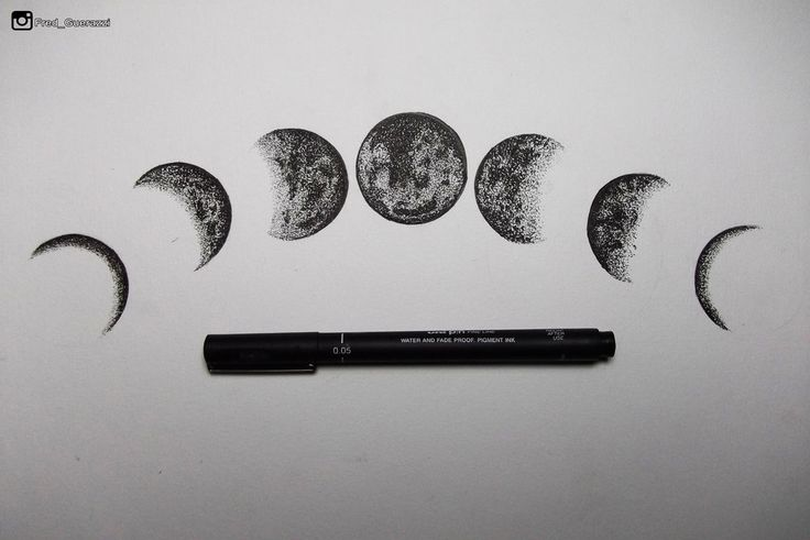 Moon Phases by FredGuerazzi on DeviantArt