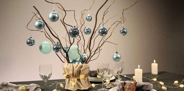Un centre de table végétal Découvrez comment composer uncentre de table végétal pour Noël