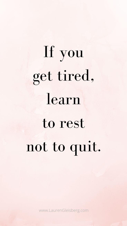BEST MOTIVATIONAL & INSPIRATIONAL GYM / FITNESS-ZITATE – Wenn Sie müde werden, lernen Sie