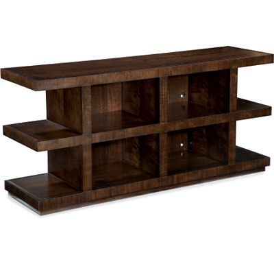 Chesterfield Sofa A Media Console that us not your typical TV stand Studio from Thomasville