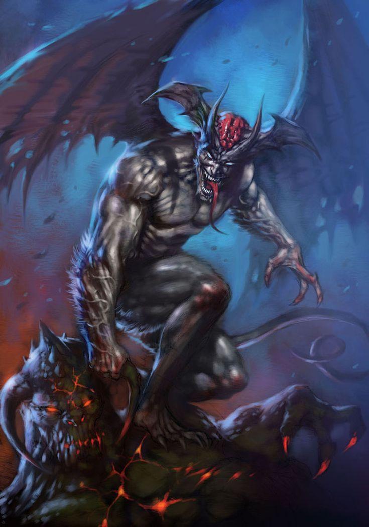 Devilman Color by LucioParrillo on deviantART