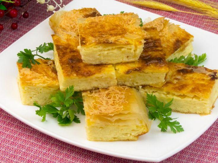 Gustul deosebit al plăcintei grecești cu brânză de vaci topește inimile chiar și celor mai aprigi critici !