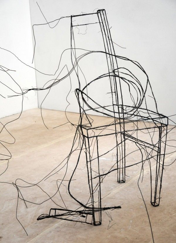 157 best Wire Art images on Pinterest | Sculpture, Iron and Wire ...