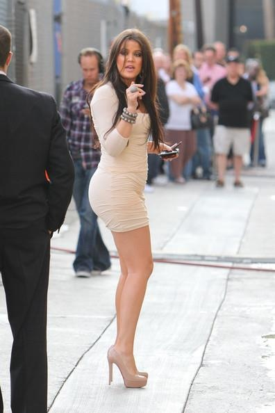 Khloe Kardashian....I mean come on look at her, I don't even like to comment to haters, but I mean seriously she probably has a WAYY nicer body than you so shut your mouth. I would kill to look like that so leave her alone assholes!! Also to keep hair looking that great she has to be healthy. She inspires me!