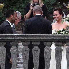Chrissy Teigen and John Legend Marry in Italy!