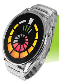 Galaxy LED watch with Digital Tube from Tokyoflash. WIth that Star Trek vibe, it's one of my fave designs they offered.