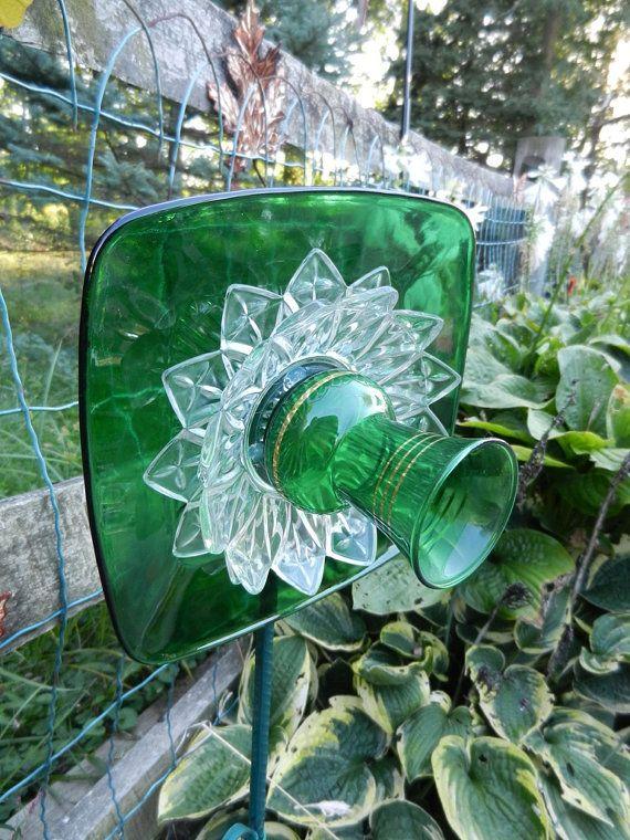 Ready to ship-CHRISTMAS SALE- Shabby Garden Flower - Suncatcher