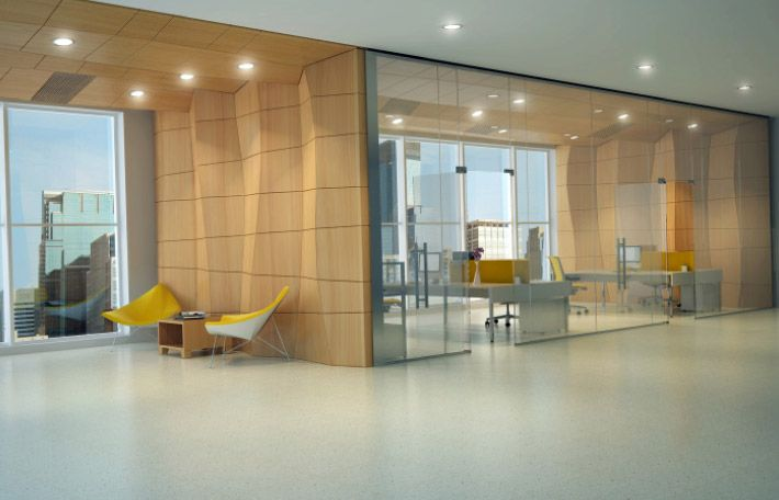 Seeyond- self-structuring special feature wall, facing, cloud, enclosure, or column.  Lighting can be integrated.