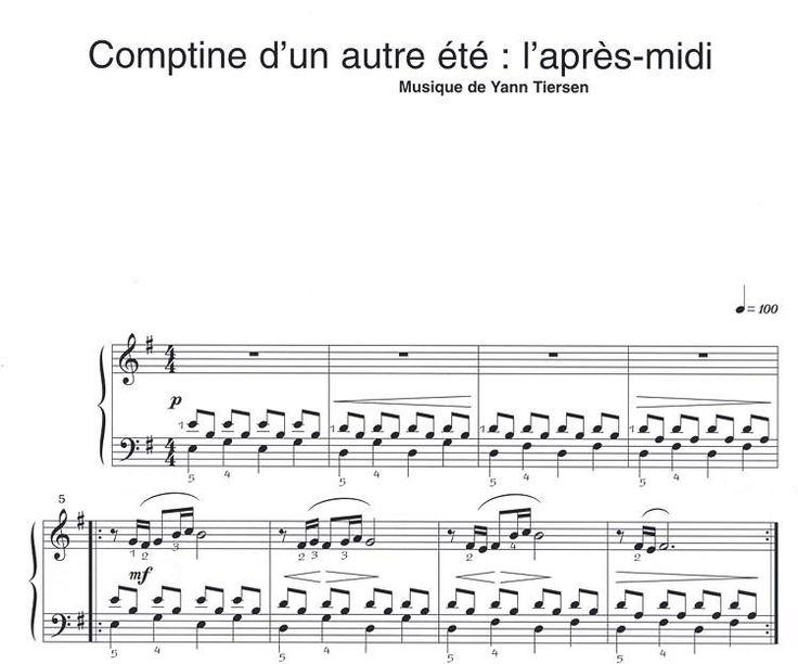 6 pièces pour Piano - Volume 2 - Le fabuleux destin d'Amélie Poulain - Piano Solo - Tiersen, Yann - Acheter Partitions de musique -