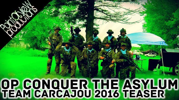 AirSoft QC TEASER OP Conquer The Asylum