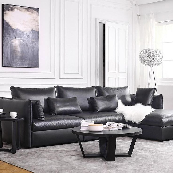 hot sale modern leather sofa set living room sectional sofa italian design genuine leather sofa l shape sofa