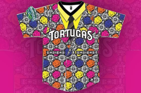 The Daytona Tortugas to honor Craig Sager with Sager Strong jerseys on July 21, 2017. All the details at SportsLogos.Net