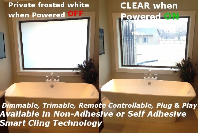 Smart Tint Switchable Film Privacy Film