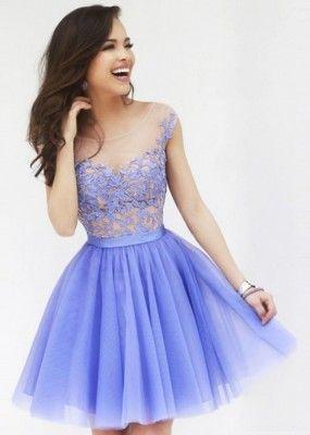 ver imagenes de vestidos de noche cortos bonitos