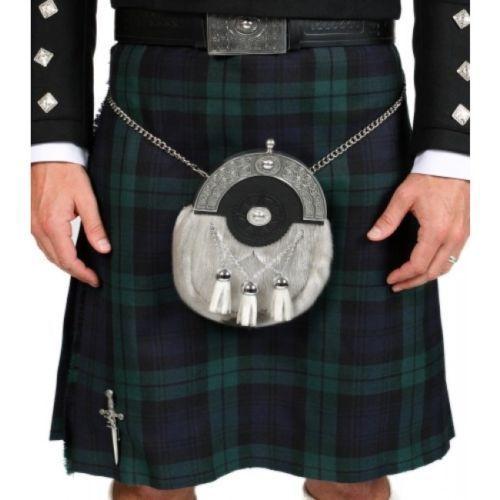 Scottish Traditional Blackwatch Tartan Mens New Kilts