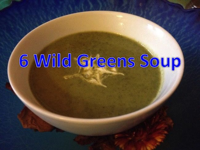 6 Wild Greens Soup