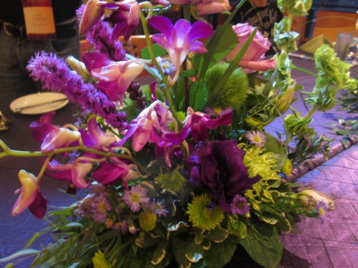 As flores da decoração de jantar são cultivadas lá mesmo na Disney!