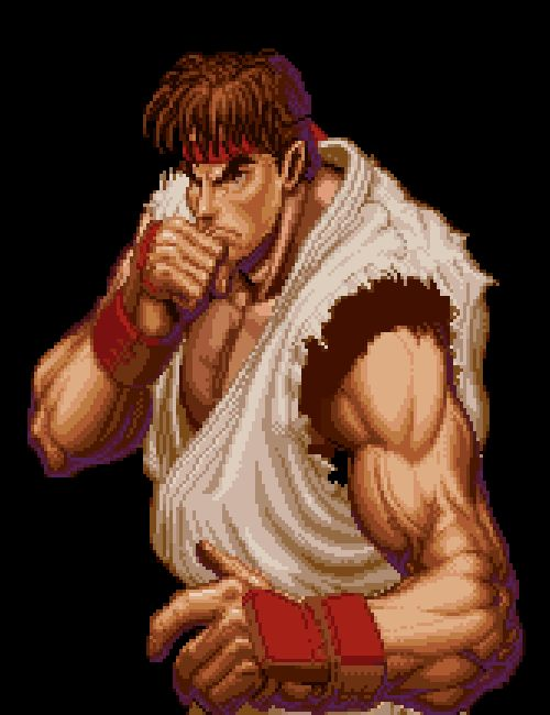 Ryu will be in smash bros.?  wii u amiibo