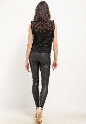 Köp Selected Femme SFSYLVIA - Skinnbyxor - black för 3495,00 kr (2016-03-31) fraktfritt på Zalando.se