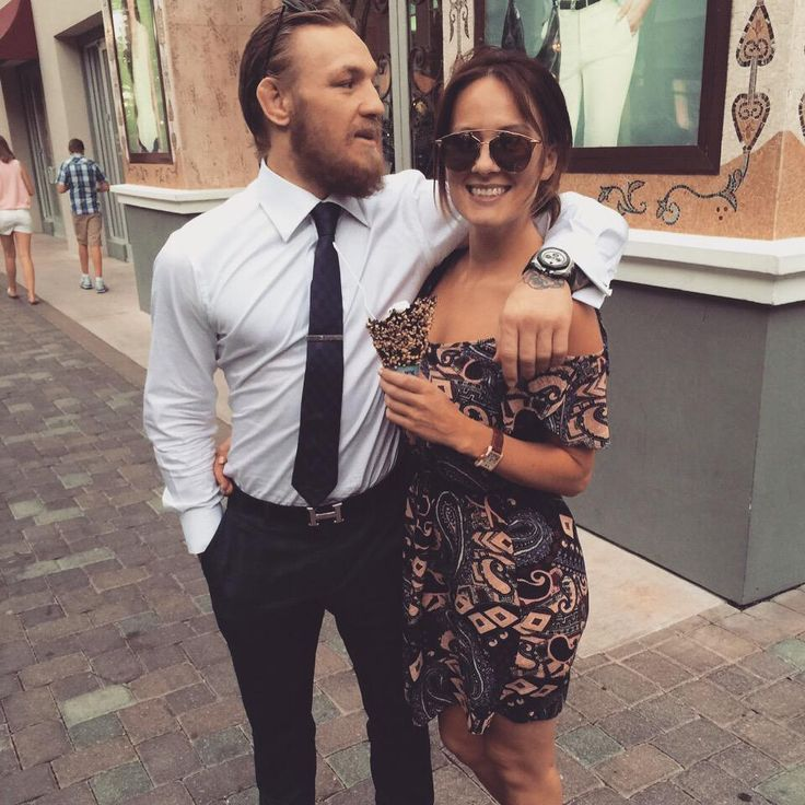 Conor McGregor & girlfriend on National Ice Cream Day : if you love #MMA, you'll love the #UFC & #MixedMartialArts inspired fashion at CageCult: http://cagecult.com/mma