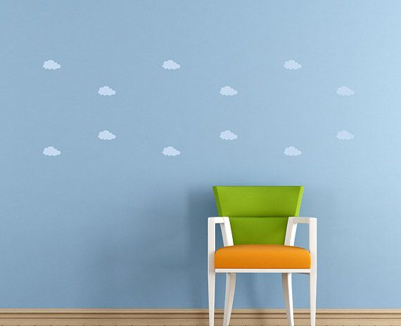 Removable Cloud wall stickers by BC Magic Wallpaper