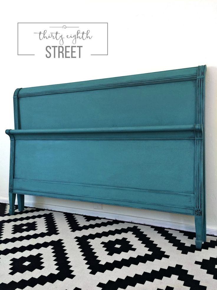 Thirty Eighth Street | Headboard Makeover: How To Layer And Dry Brush Annie Sloan Chalk Paint®.