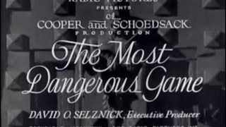 the most dangerous game - YouTube