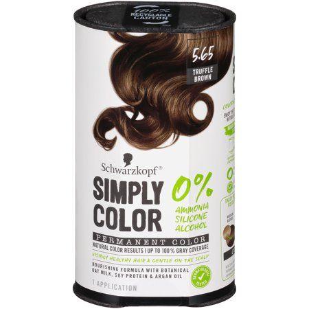 Schwarzkopf Simply Color Permanent Hair Color, 5.65 ...