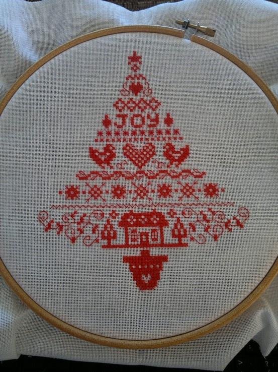 Cross stitch on evenweave | REPINNED