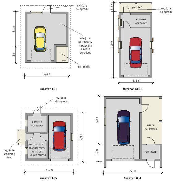 """Garaż, który jest  tylko """"sypialnią samochodu"""", to mało ekonomiczna inwestycja. Jego budowa  bardziej się opłaci, jeśli nadamy mu charakter ..."""