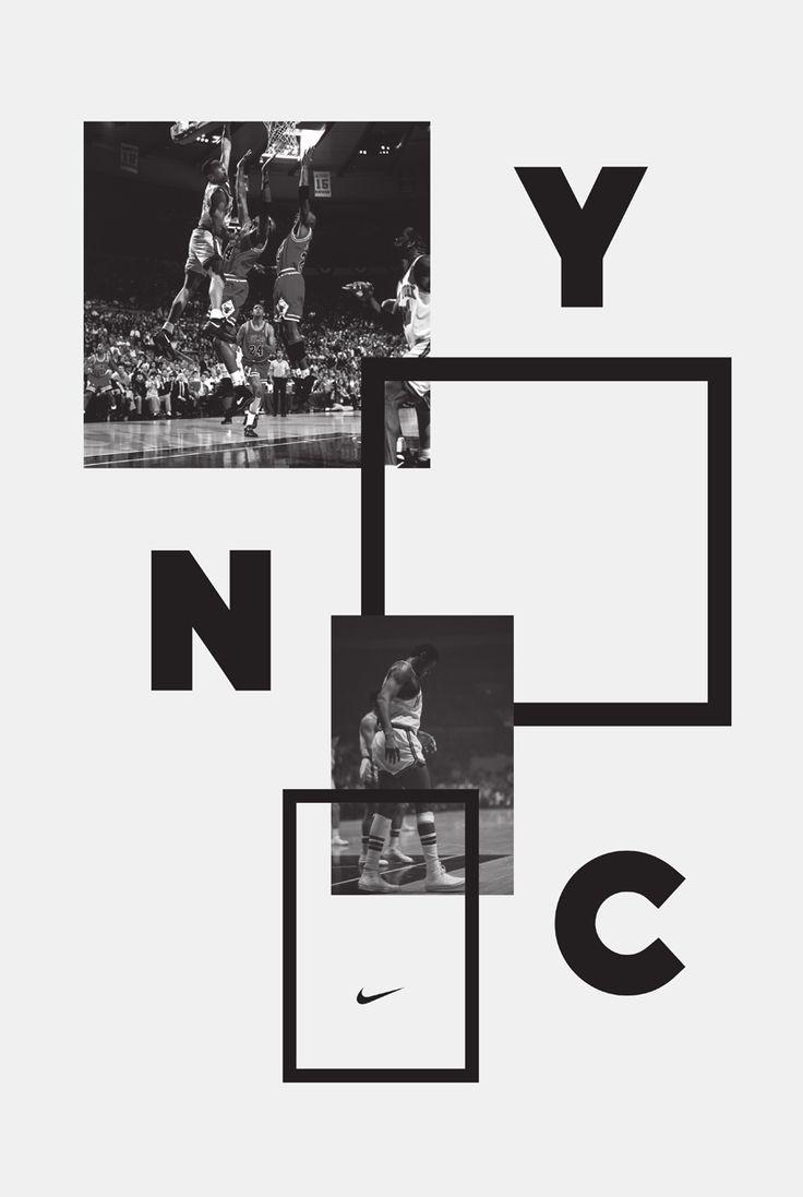 nike brand poster design | typography / graphic design: Inspiration @ Hort vs. Nike |