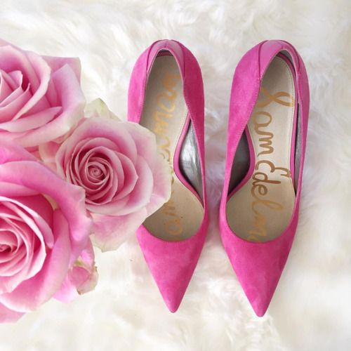 the cutest pink pumps