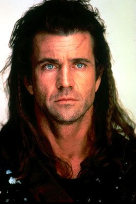 Most beautiful blue eyes ever! Idc what anyone says, Mel Gibson was incredibly good looking as a young man! Love braveheart ♥♥♥