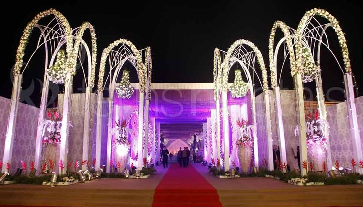 We have refined the #contemporary_wedding, India into a fine art. As contemporary wedding decorators in Delhi we transform each event into a magical gala.