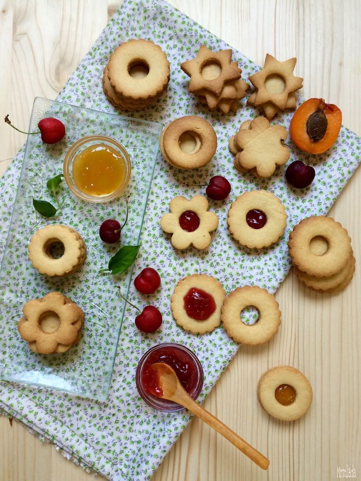 Galletas Linzer  Linzer cookies