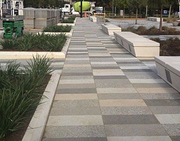 AIM - American Interlock & Modular Paving & Construction - Commercial and residential flexible interlocking pavement for outdoor spaces.