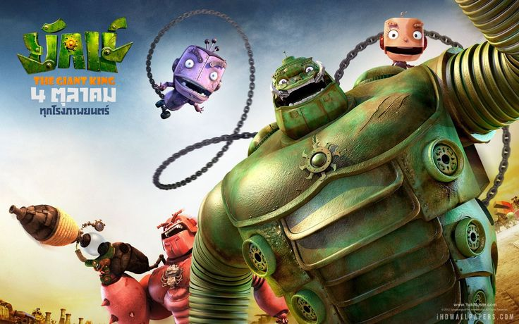 3D ROBOT - YAK - Animation Movies for children - Cartoon ...