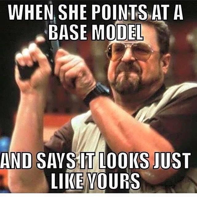 Me when my friend taught her 328is was the same as my M3 Lol #Car_Memes #Base_Model
