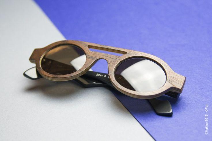 Hakino - John & Yoko - Lunettes en bois Hakino - Made in France - Shooting produits by Créations Françaises, Crédits photos PAT
