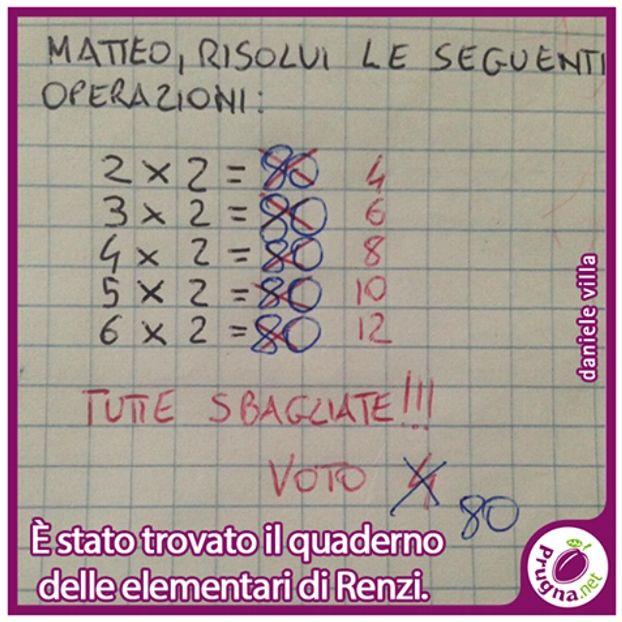 Il quaderno di #Renzi