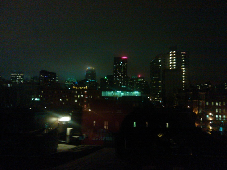 Montreal from Opus