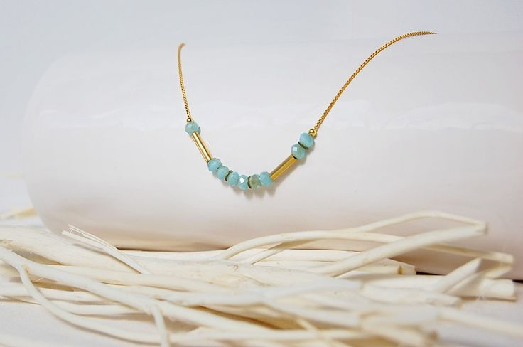 El Collar Morse (blue gold), con un significado especial #life . #jewelry #women #necklace #simply #accesorios #moda #complementos #joyeria #cute