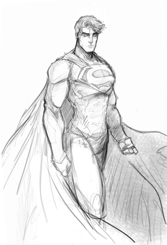 Superman-new52 revision by Sketchydeez on deviantART
