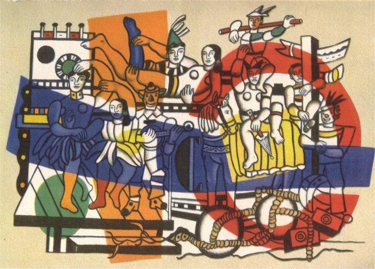 La Grande Parade ~ 1954 ~ Olieverf op doek ~ 299 x 400 cm. ~ Solomon R. Guggenheim Museum, New York