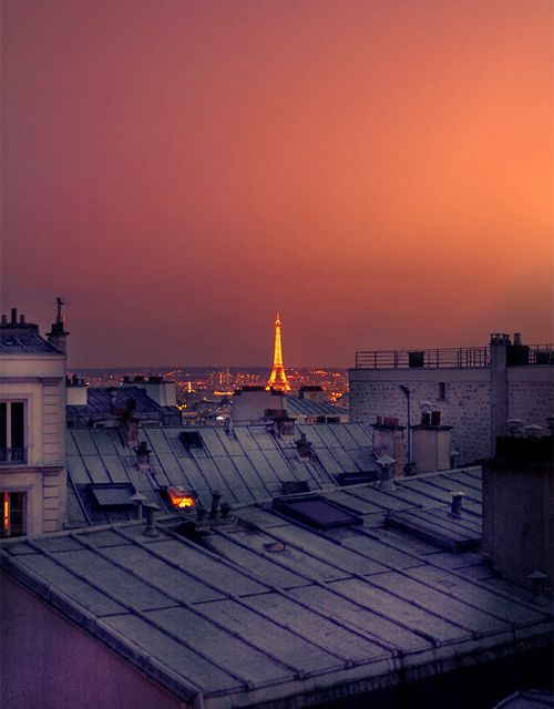 723 best images about blue with orange on pinterest for Paris night time