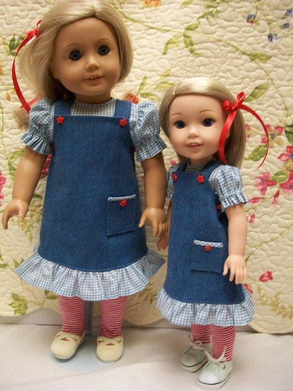 "Blouse /""Sisters/""  Pattern for 18/"" and 14.5/"" Wellie Wishers Socks Jumpers"
