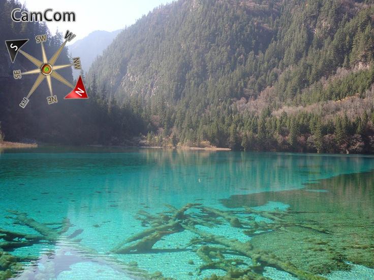 The china jiuzaigou, Take from the iPad (CamCom App)