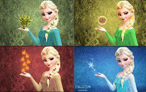 What is Elsa's evil side?